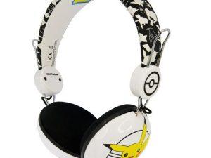 Pokemon headset Pikachu i gul, hvid og sort