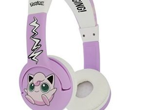 Pokemon hovedtelefoner til junior med lydstyrkebegrænsning