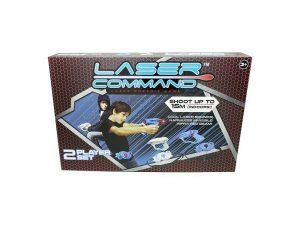 Laser command til 2 personer - er du klar til kamp med en ven?