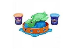 Play-Doh twist and squish turtle med 12 forskellige former