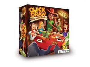 Quick Draw er et sjovt familiespil hvor du skal skyde banditter