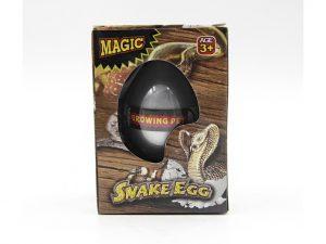 Magisk slangeæg - læg det i vand og se slangen vokse
