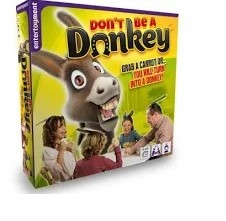 Don't be a Donkey er kortspillet med fart over feltet for hele familien
